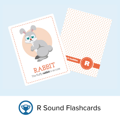 Flashcards for the r sound