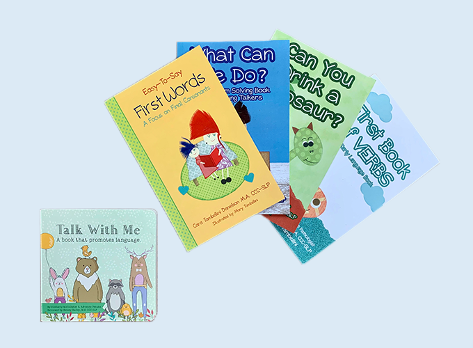 Speech Delay Book Bundle