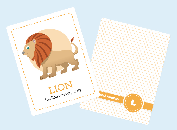Lion Flash Cards: Lion