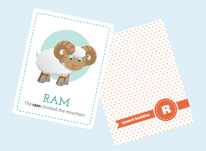 R-Sound Flashcards: Ram
