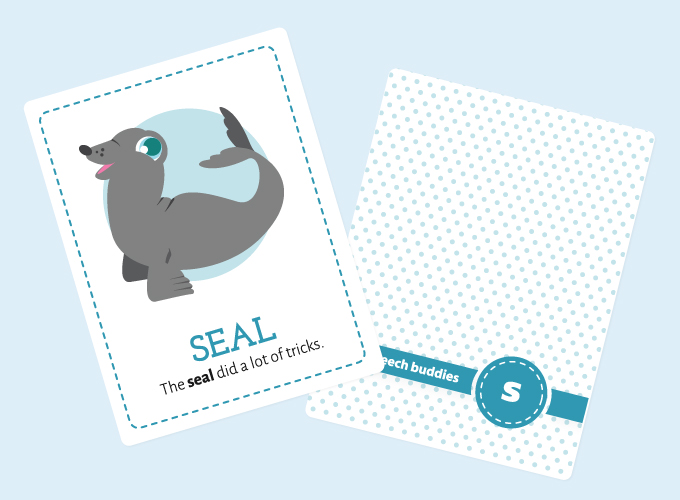 S-Sound Flashcards: Seal