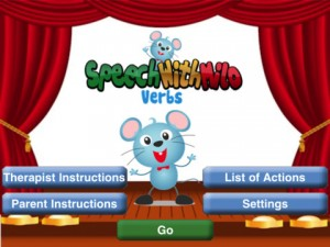 Speech with Milo App