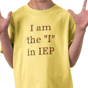 Child in an IEP
