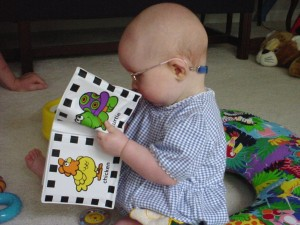 Baby with Picture Book