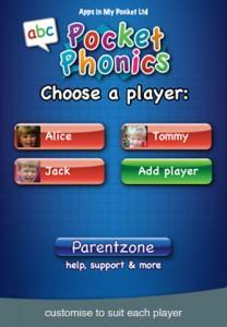 Pocket Phonics App Screenshot