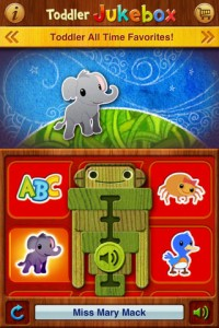 Toddler Jukebox App Screenshot