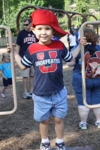 Jake Has Fun at a Playground