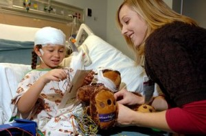 Child in Hospital with TBI
