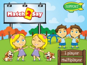Match2Say App Screenshot