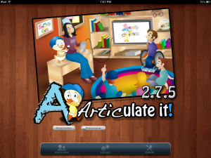 Articulate It! App Screenshot