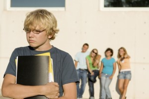 Child with Asperger's at School