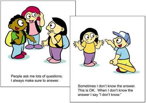Sample Social Story