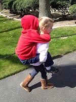 Eric and Big Sister Anna