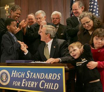 George Bush Reauthorizes IDEA in 2004