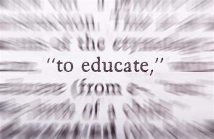 """To Educate"" Text"