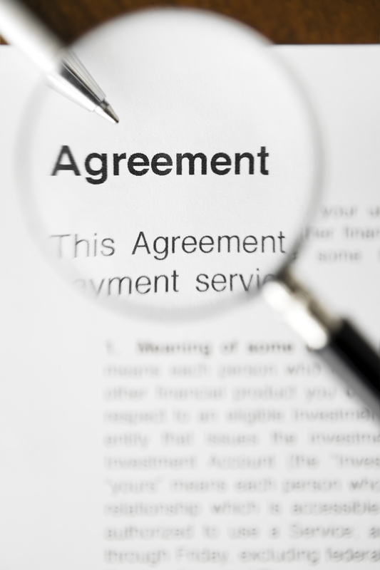 Agreement Under Magnifying Glass