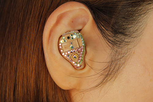 Decorated In-the-Ear Hearing Aid