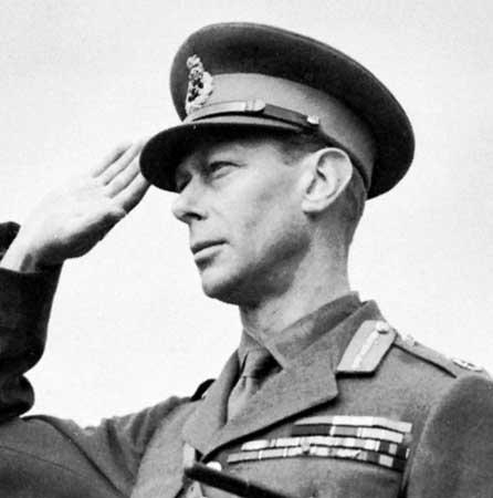 King George VI Salutes
