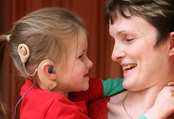 Child with Cochlear Implant