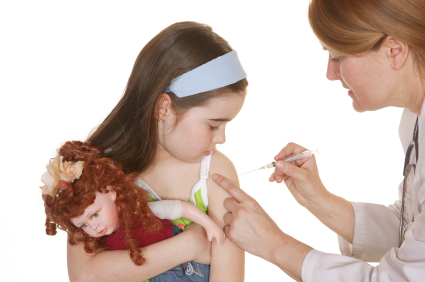 Child Receiving Vaccination