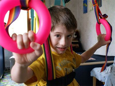 Child with Fragile X Syndrome