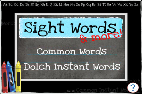 Sight Words and More! Screenshot