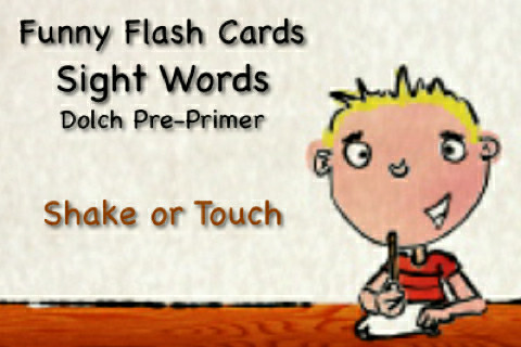 Sight Words - Talking Funny Flash Cards Screenshot