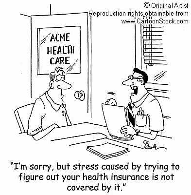 Health Insurance Cartoon