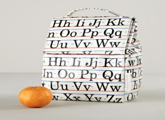 Learning the Alphabet Lunch Bag