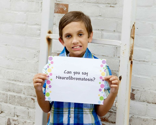 Child with Neurofibromatosis