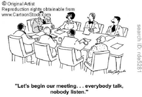 IEP Meeting Cartoon