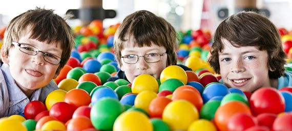 Sensory Toys for Children - Ball Pool