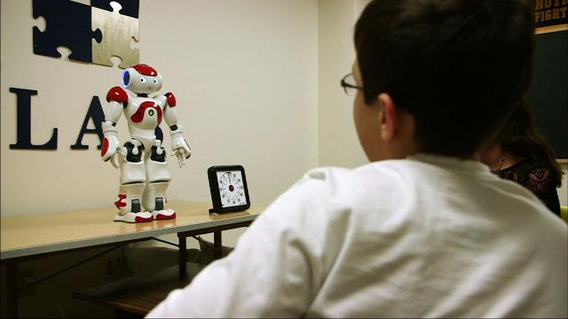 Autistic Children and Robots for Speech Therapy