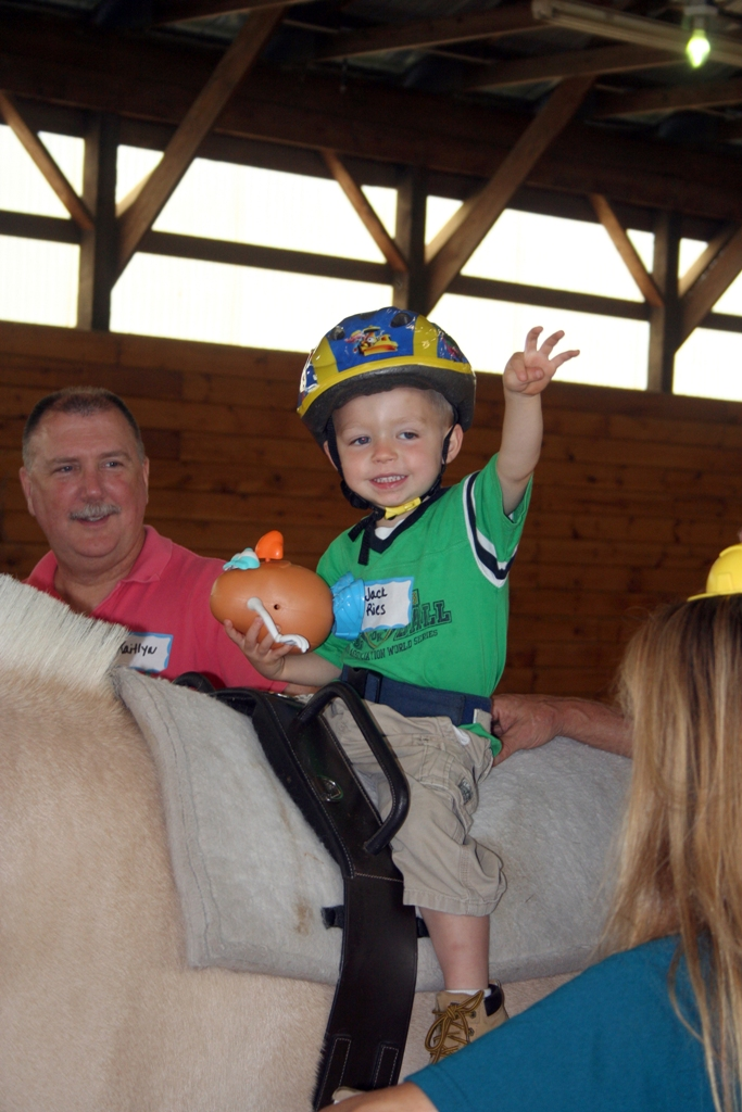 New Hampshire Horsetalk Combines Speech Therapy With