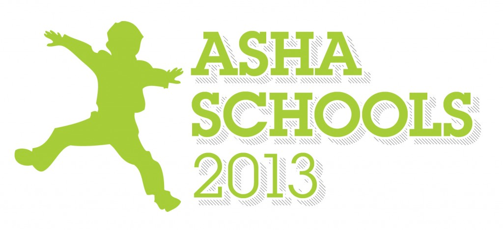 ASHA schools conference 2013 logo