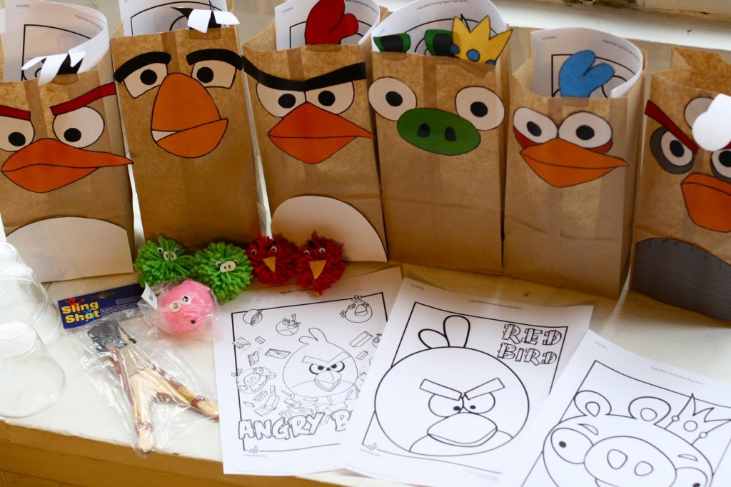 Angry bird articulation and language activities speech for Bag decoration games