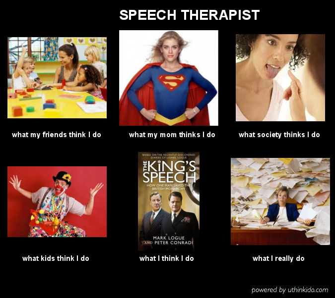 speech therapy meme