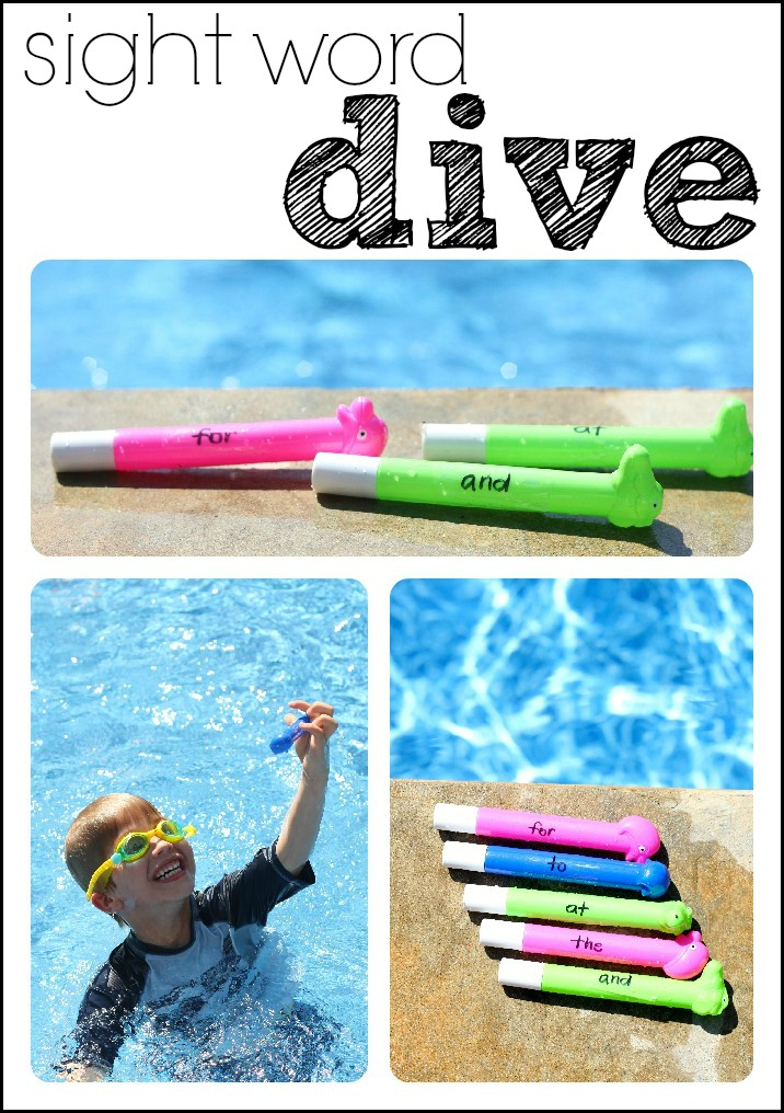 sight word dive activity