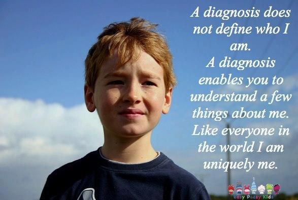 A diagnosis does not define a person.