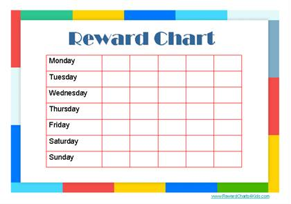 This and more Reward Charts available on Reward Charts 4 Kids