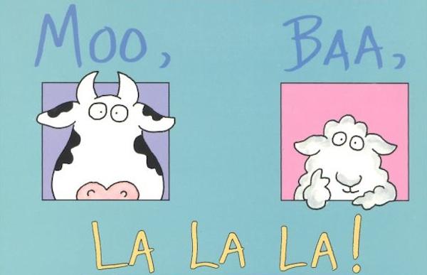 Moo Baa La La Book