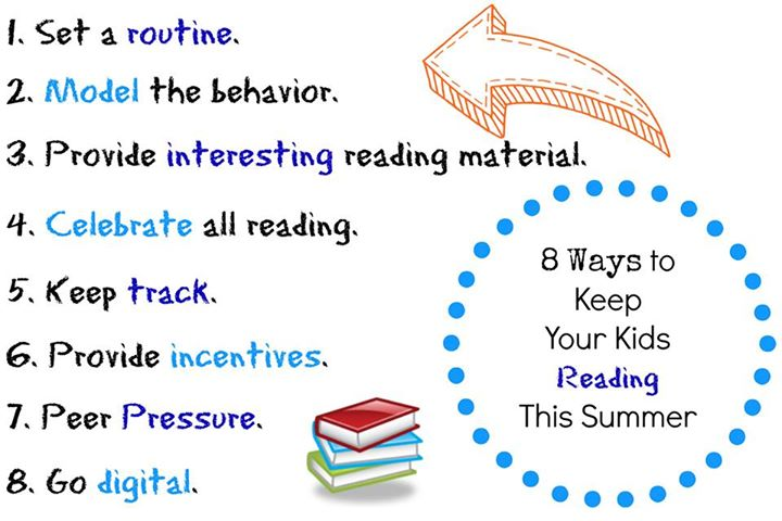 8 Ways to Encourage Summer Reading