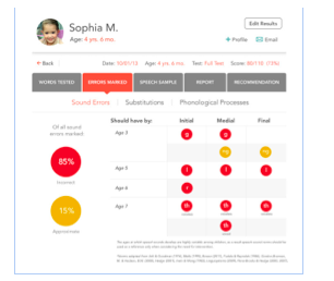 Speech Therapy App Review - Articulation Test Center by