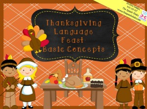 Speech Chicks Thanksgiving Language Feast