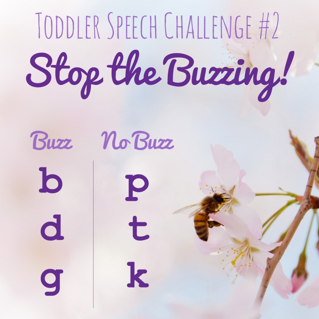 Toddler Speech Clarity - Stop the Buzzing