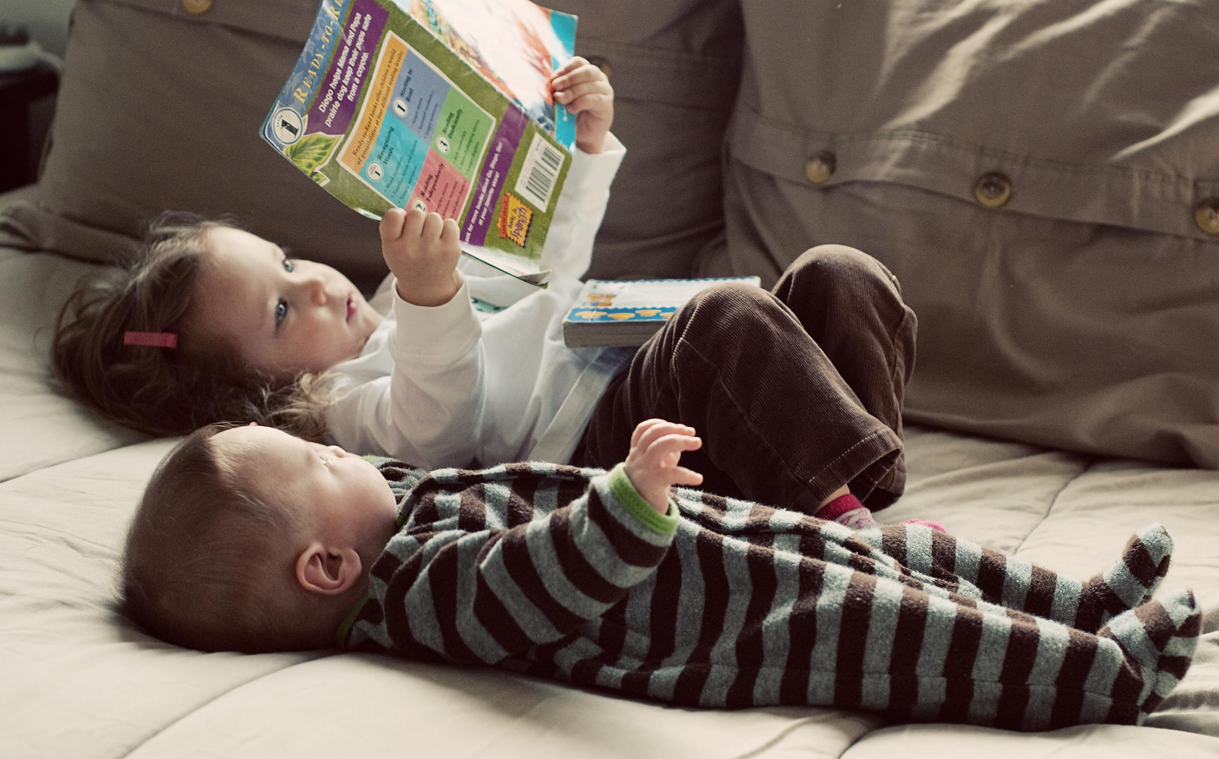 5 Ways to Build Language Skills in Your Little Ones