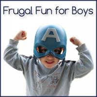 Frugal Fun for boys