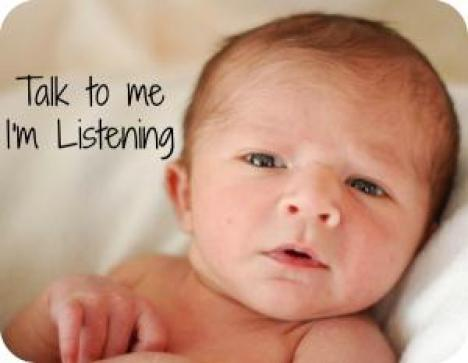 Baby talk: does it help or hurt how your baby learns language?