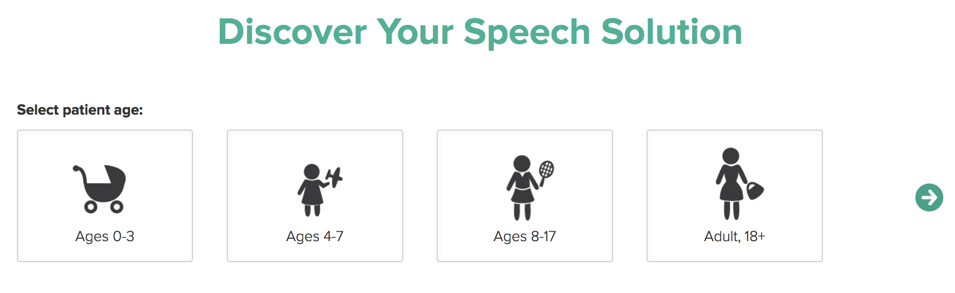 Find your speech solution